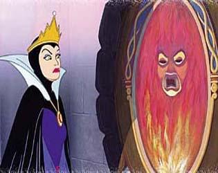 白雪姫と自己アピール
