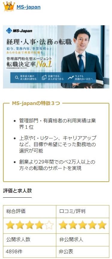 2位MS-japan