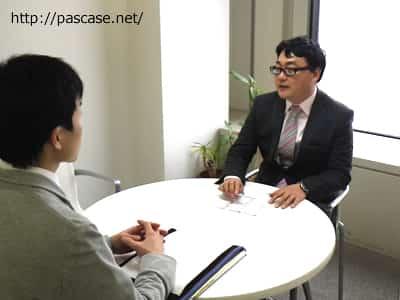 アデコIT部門担当者の山口さんの写真