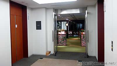 ビズリーチオフィスの入り口