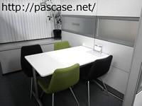 ヒューマン転職の面談に使うテーブル