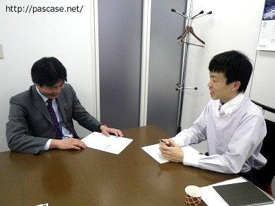 転職エージェント前野さんにインタビュー中