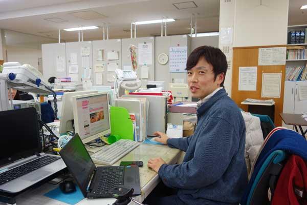 ホームページの更新で鳥取市の駅南庁舎へ