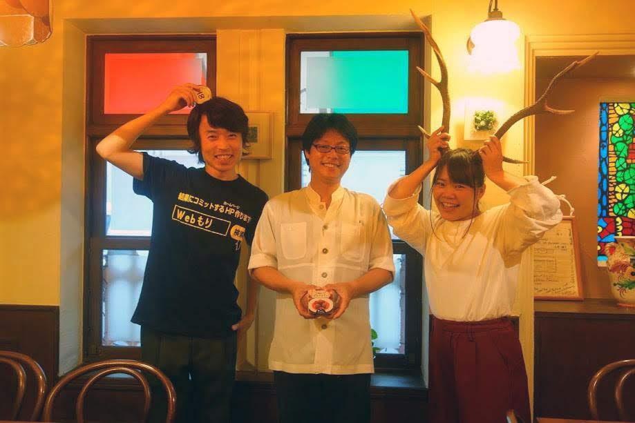 【鳥取産鹿肉の缶詰化クラウドファンディング】新聞社から取材を受けました!