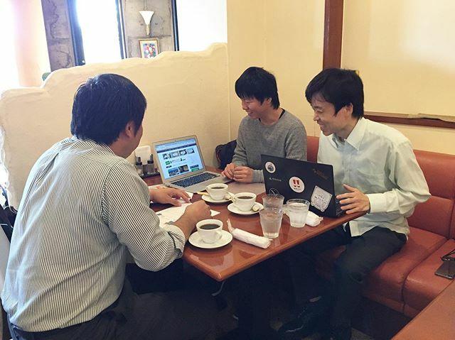 鳥取市を中心に飲食店を運営している株式会社アクティブとPR方法の打ち合わせしてきました!