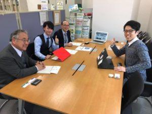 ふるさと鳥取県定住機構で打ち合わせしてきました!