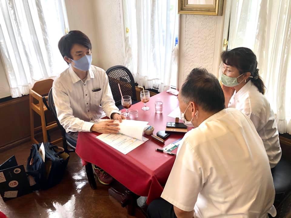 鳥取市湖山の老舗レストラン「仏区里屋」で打ち合わせしてきました!
