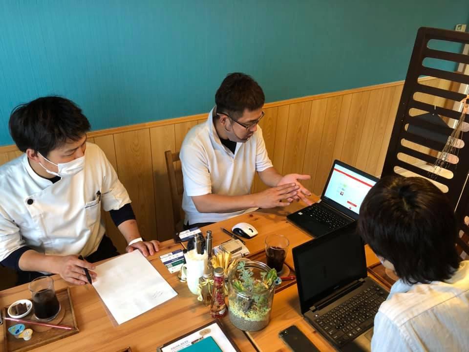 鳥取市のカフェ「トットリチーズガーデン」さんで打ち合わせ!