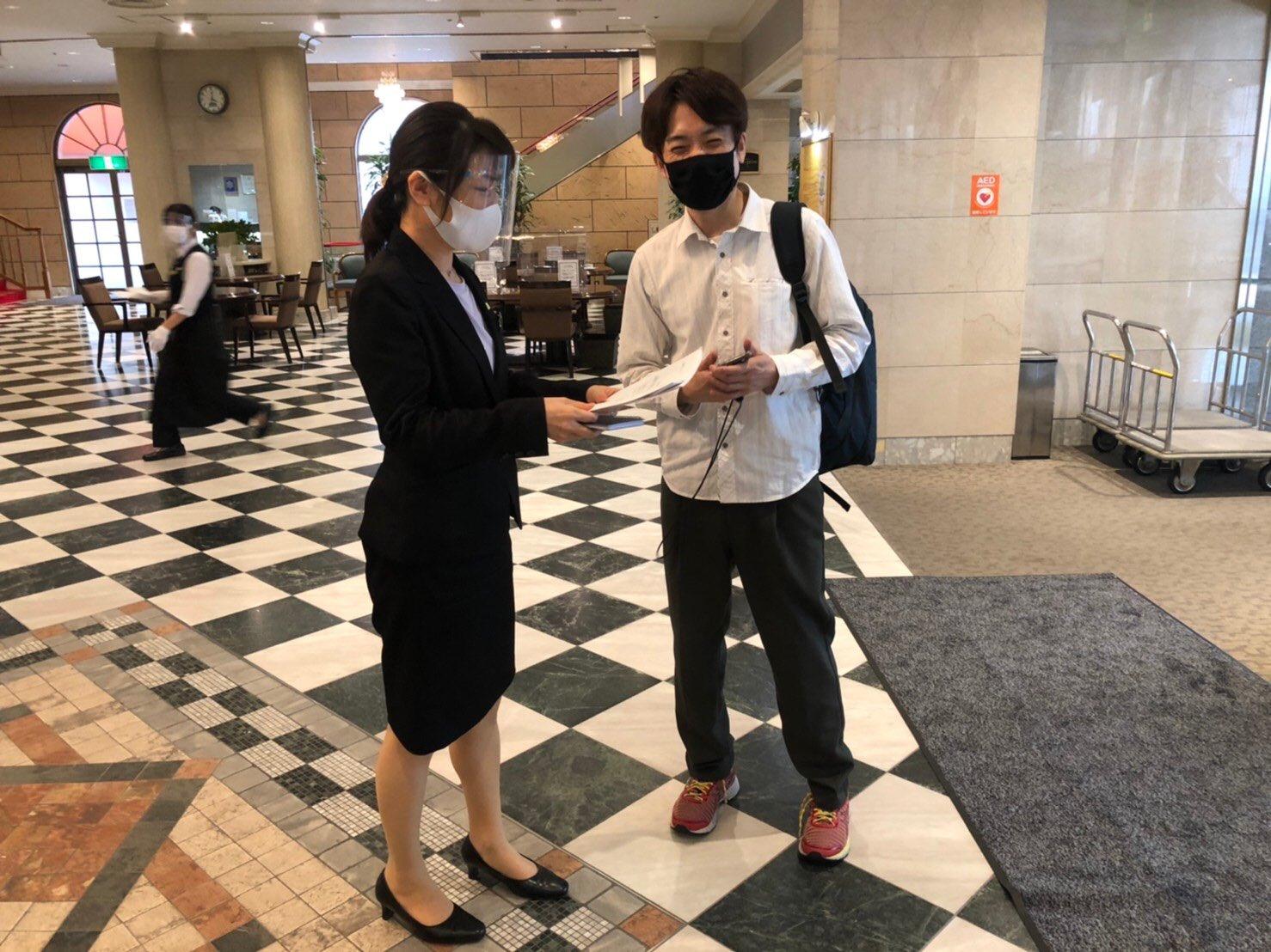 ホテルモナーク鳥取さんと打ち合わせ!!