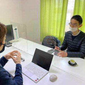 日本財団所長の木田さんが事務所に来社されました!