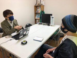 「トリノス」代表の杉原さんと打ち合わせ!